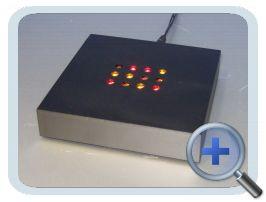 Verlichting Kleur 10x10cm