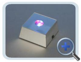 Verlichting Kleur 5x5cm (Zilver)