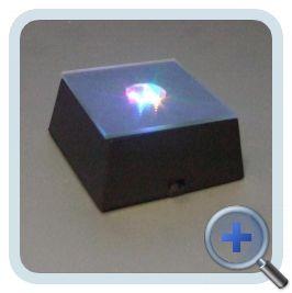 Verlichting Kleur 5x5cm (Zwart)