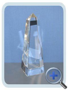 "Trofee ""Obelisk"" 60x60x190mm"